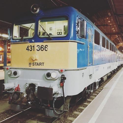 EN 473 Ister, Budapešť Keleti - Bukurešť Gara de Nord