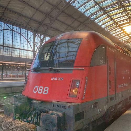 RJ 79 Johann Strauss, Praha hl.n. - Graz Hbf